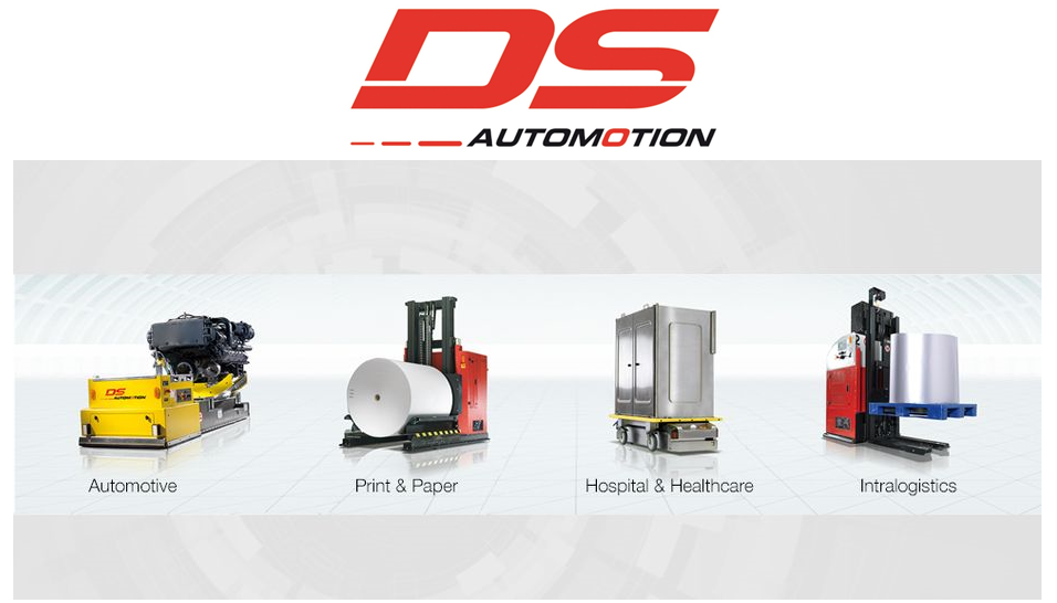 DS AUTOMOTION – AUTONOMOUS GUIDED VEHICLES (AGV)